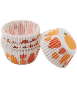 Wilton Mini Pumpkin Patch 100 Baking Cups
