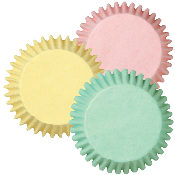 Wilton Assorted Pastel Color Baking Cups (75cups)