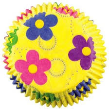 Wilton Dancing Daisy Flower 50 Baking Cups