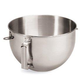 โถผสมสแตนเลส สำหรับรุ่น 5 & 6 qaurt - KitchenAid Stainless Bowl for Pro5plus