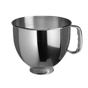 โถผสมสแตนเลส สำหรับรุ่น Artisan 5 quart - KitchenAid Stainless Bowl  for Artisan