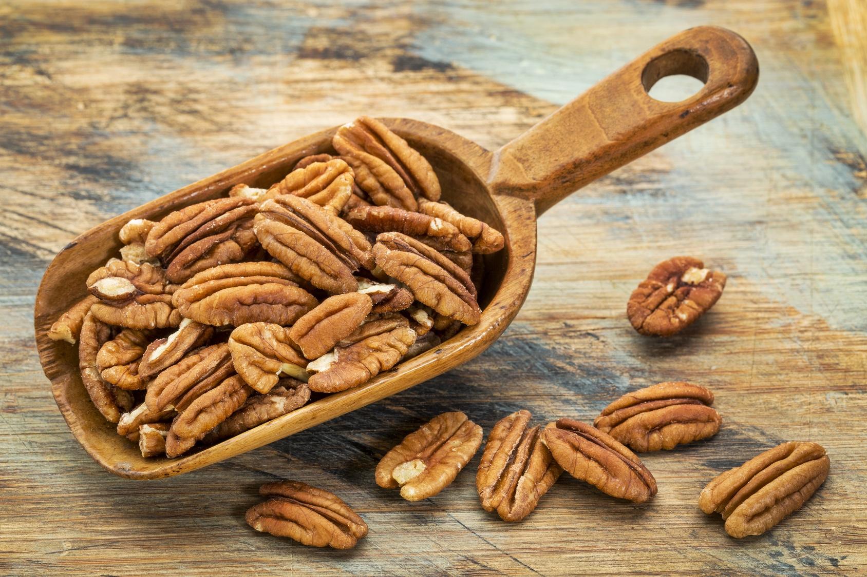 ถั่วพีแคนดิบ - Raw Pecan Nuts