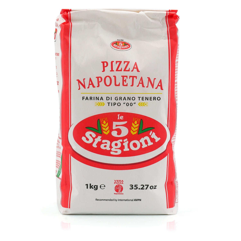 แป้งพิซซ่า TYPE 00 - Le 5 Stagioni  PIZZA NAPOLETANA FLOUR 1kg