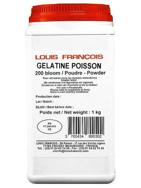 Louis Francoise Gelatin Powder 200 Bloom