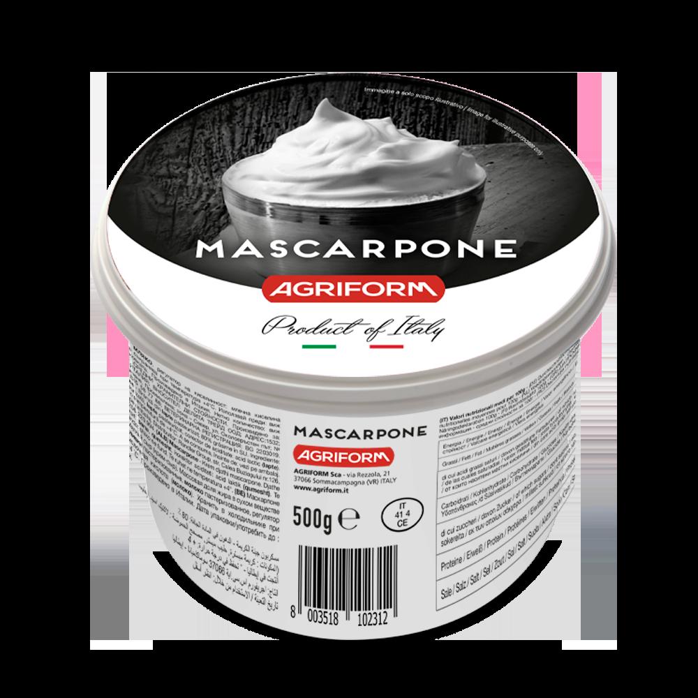 มาสคาโปเน่ครีมชีส - AGRIFORM MASCAPONE CREAM CHEESE 500g