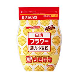 Nisshin Soft Flour 1kg : Hakurikiko (薄力粉) แป้งเค้กญี่ปุ่น ยี่ห้อนิชชิน