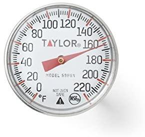 ที่วัดอุณหภูมิแบบเข็ม - Taylor Precision Products Classic Instant Read Pocket Thermometer