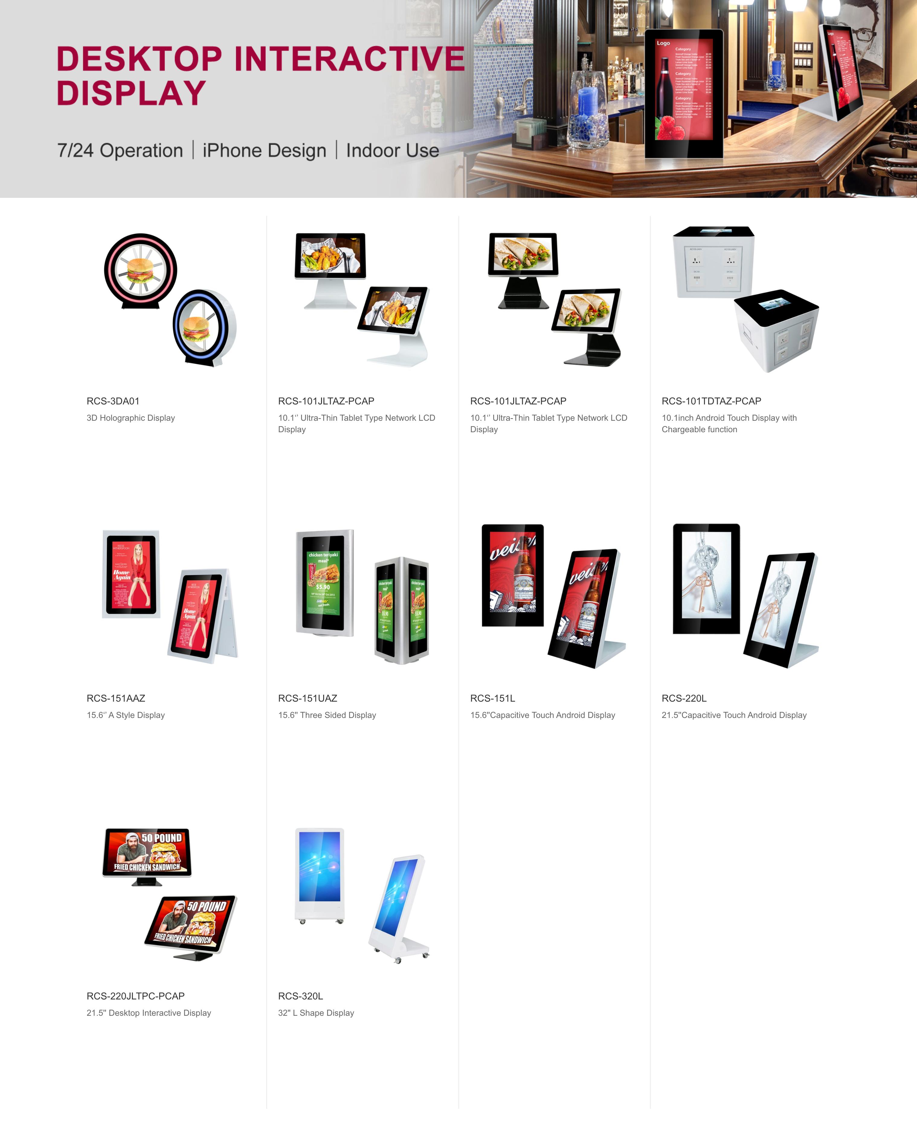 Desktop Interactive Display