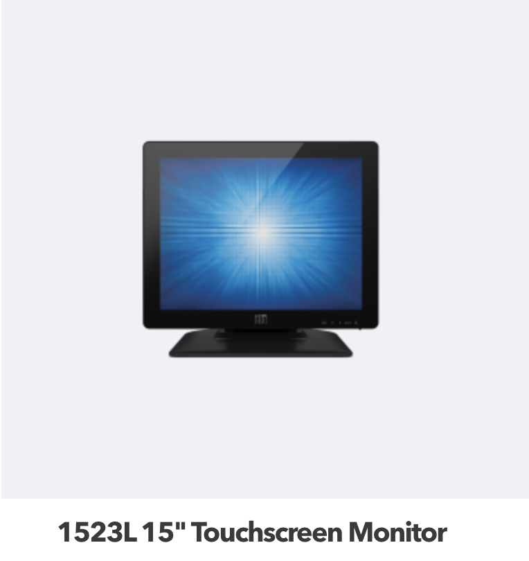 15 Touch Screen Monitor Model 3