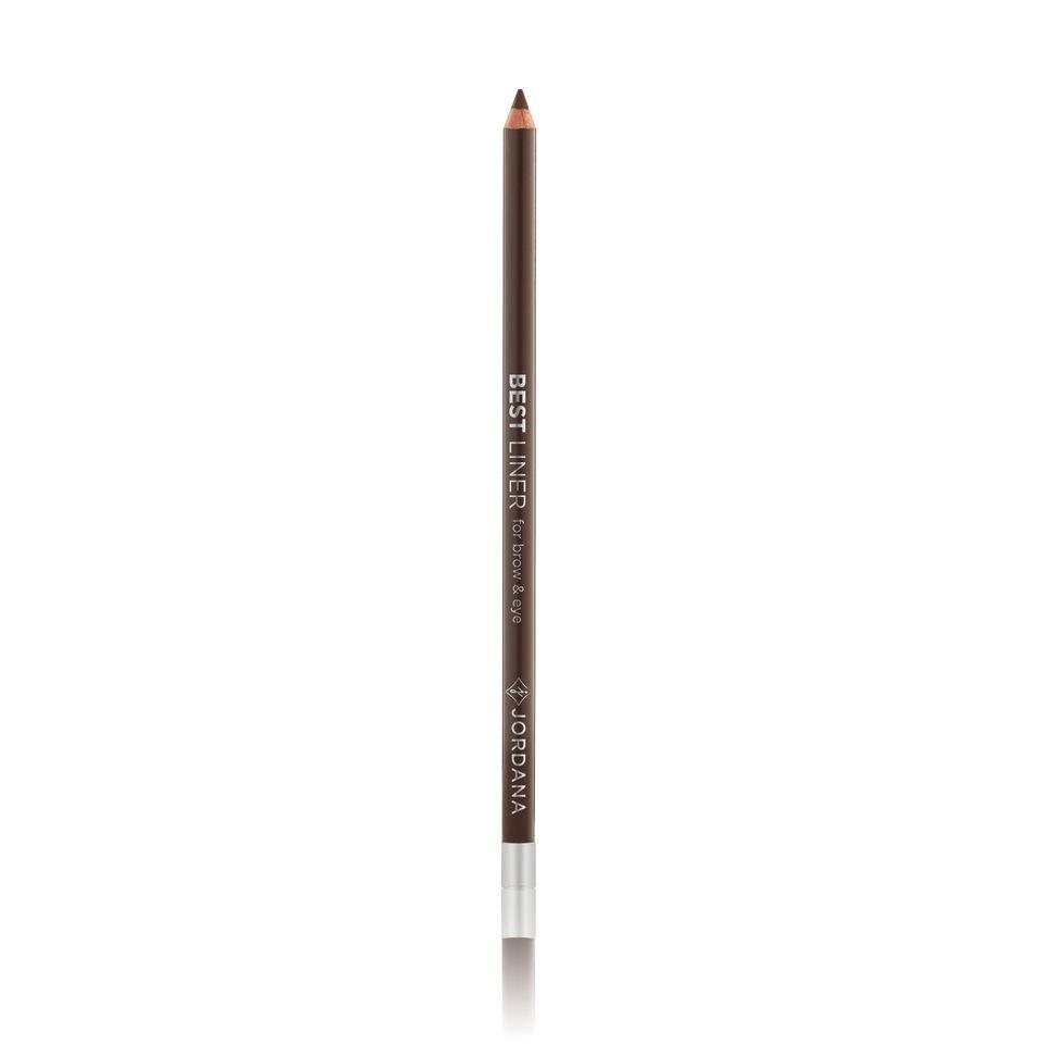 "Jordana Best Liner For Brow & Eye 7"" Eyeliner Pencil #08 CHOCOLATE"