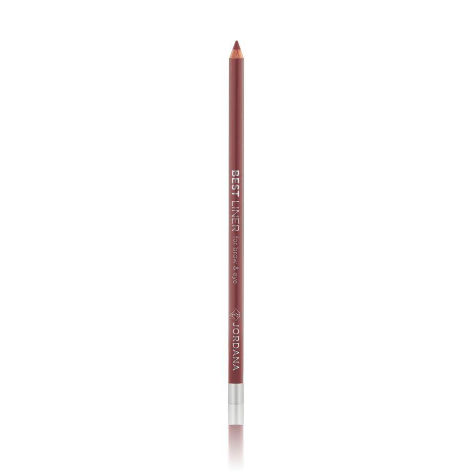 "Jordana Best Liner For Brow & Eye 7"" Eyeliner Pencil #39 MEDIUM BROW"