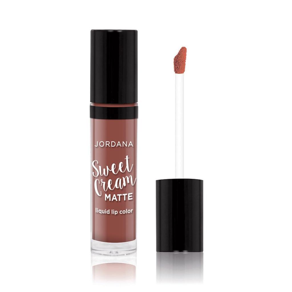 Jordana Sweet Cream Matte Liquid Lip Color #22 CINNAMON TOAST