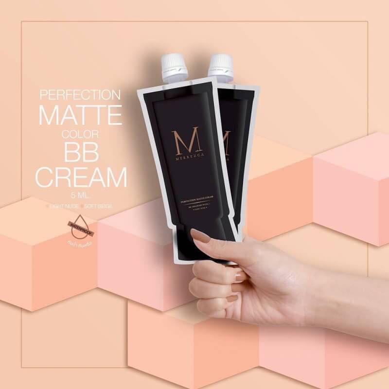 Merrez'ca Perfection Matte Color BB Cream 5ml (ซอง)