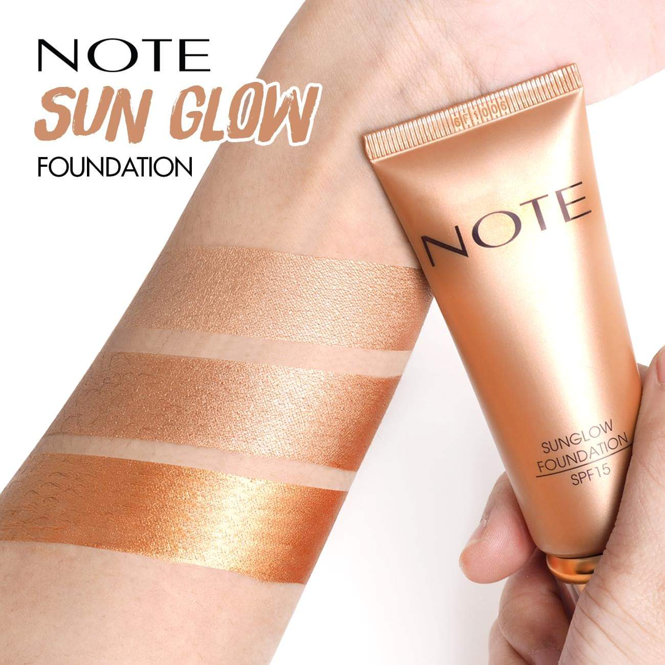 Note Sun Glow Foundation 35ml (No Box)