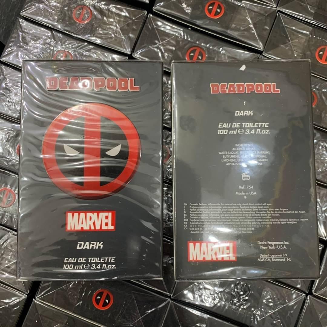 Marvel Deadpool Dark EDT For Men 100ml