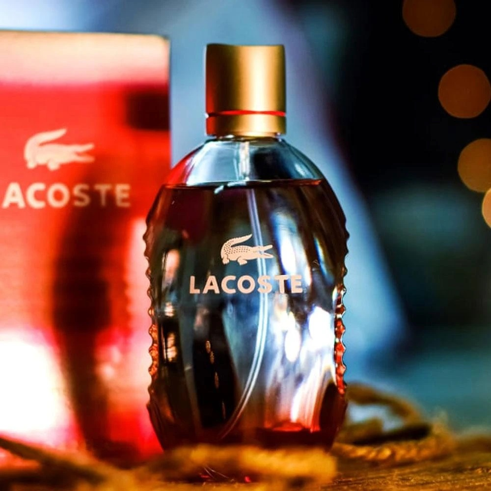 Lacoste Red Pour Homme EDT 125ml (Tester Box)