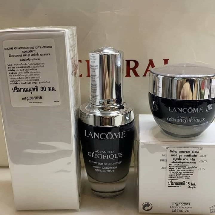 Lancome Advanced Genifique Set Serum 30ml + Eye Cream 15ml (Tester Box)