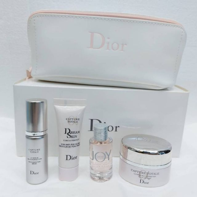 Dior Capture Totale Set 5 Pcs With Dior Pouch Limited-Edition 2020