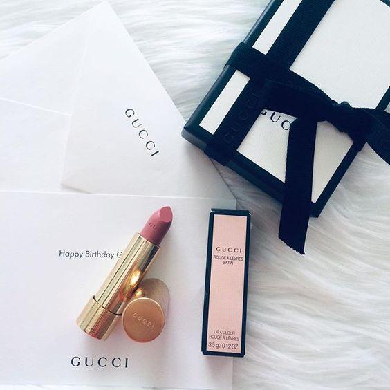 Gucci Rouge a Levres Satin Lip Colour #200 Blaze of Noon