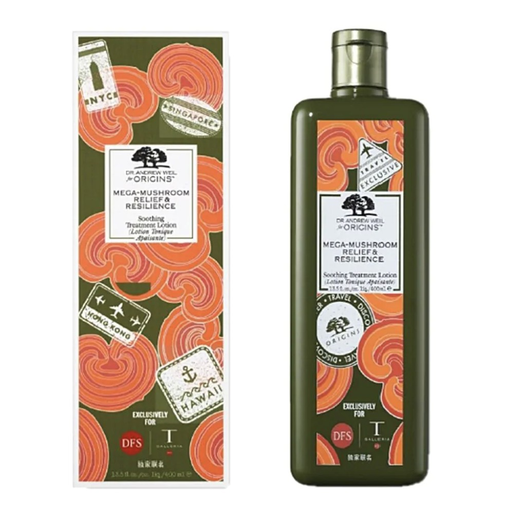 Origins Dr.Andrew Weil For Origins Mega-Mushroom Relief & Resilience Soothing Treatment Lotion 400ml (Hong Kong)
