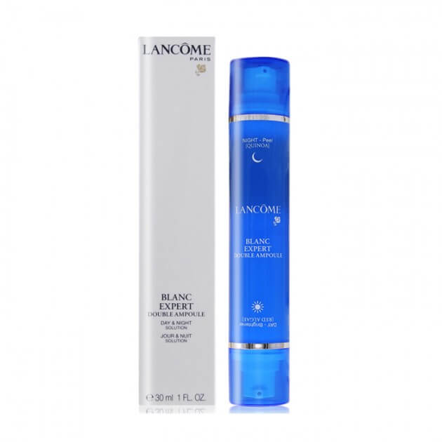 Lancome Blanc Expert Double Ampoule Day And Night Solution 30ml. (กล่อง TESTER)