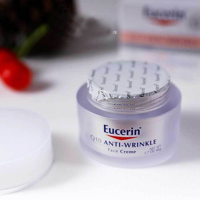 Eucerin Q10 Anti-Wrinkle Face Creme 48g.