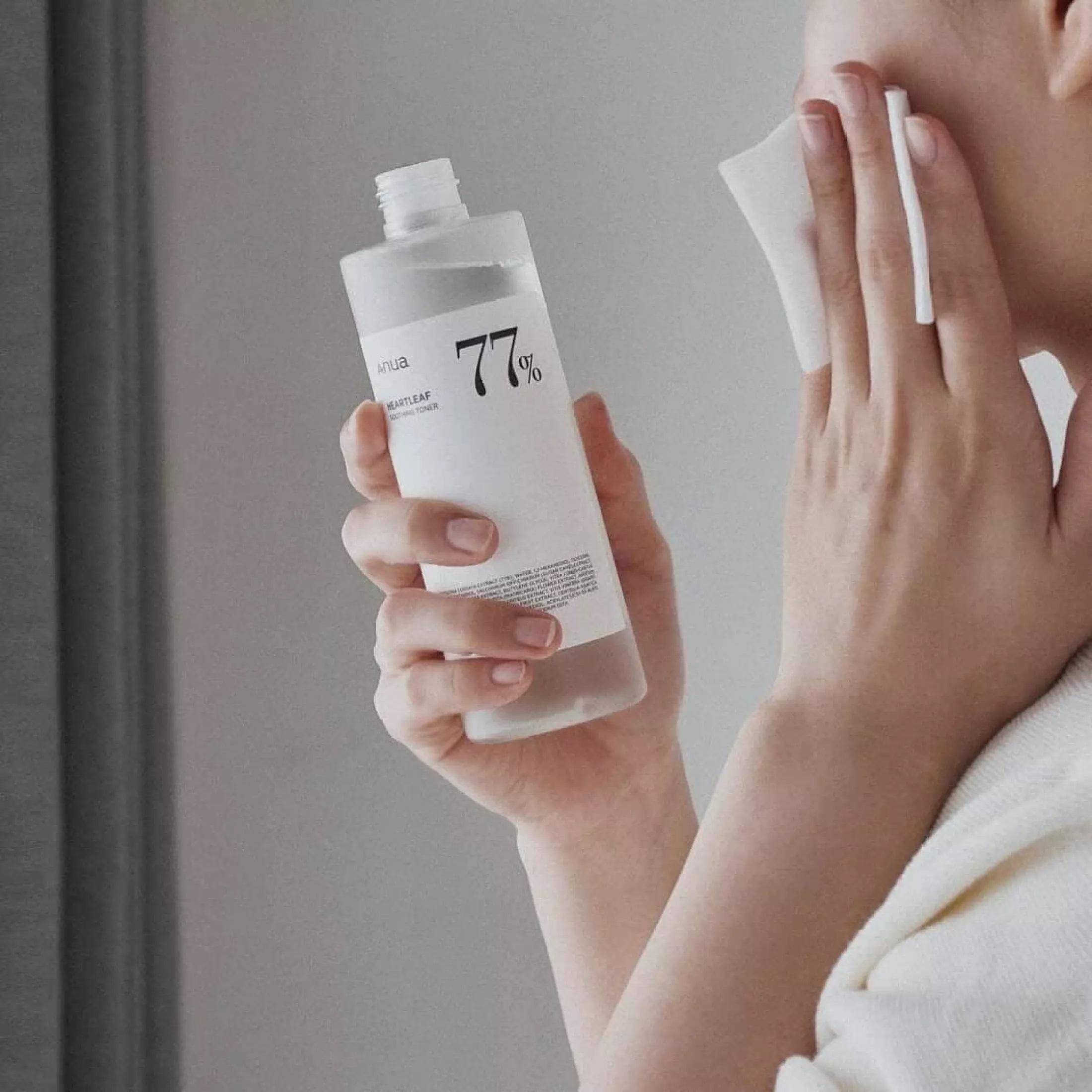 ANUA Heartleaf 77% Soothing Toner 250ml (โทนเนอร์พี่จุน)