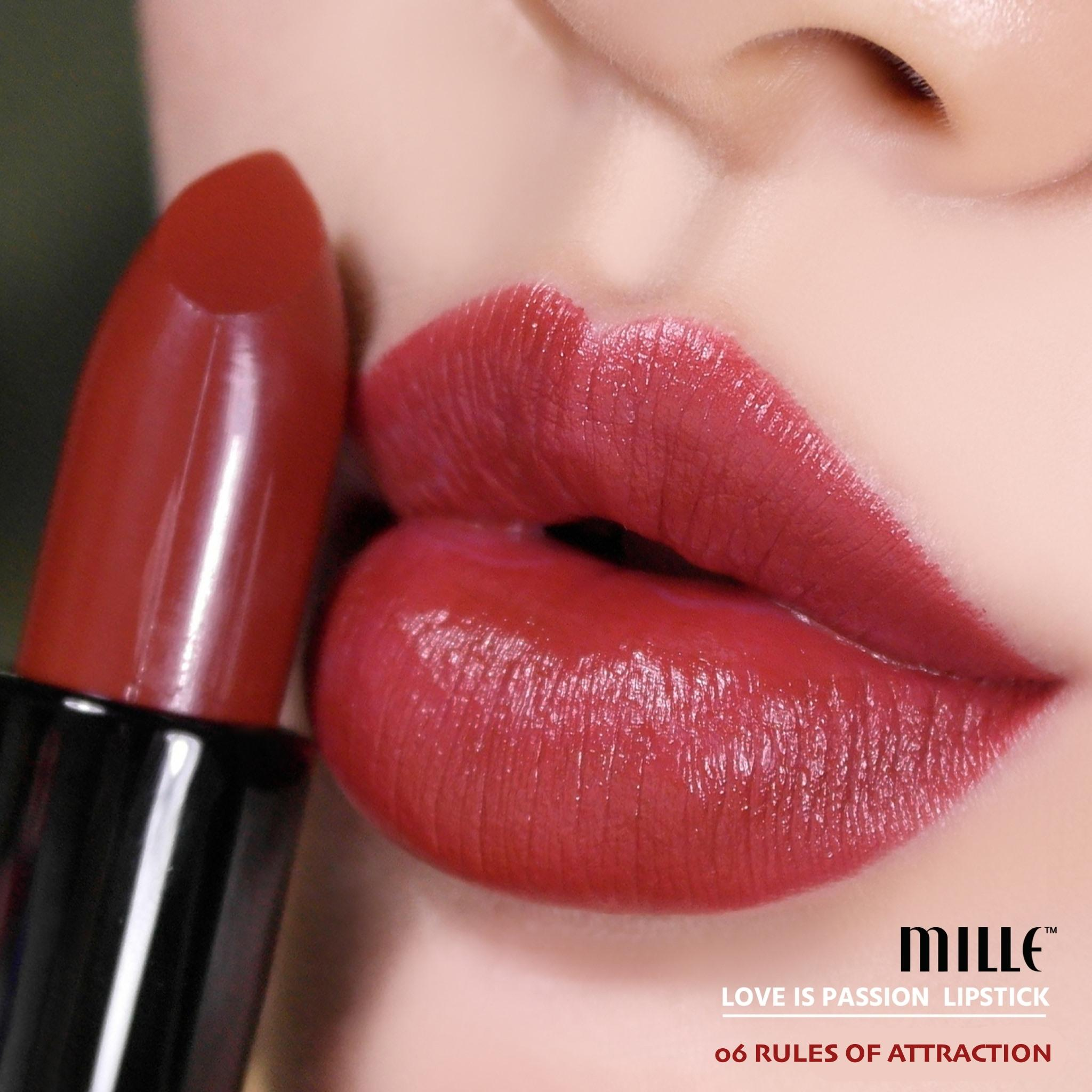 MILLE LOVE IS PASSION LIPSTICK 06 RULES OF ATTRACTION