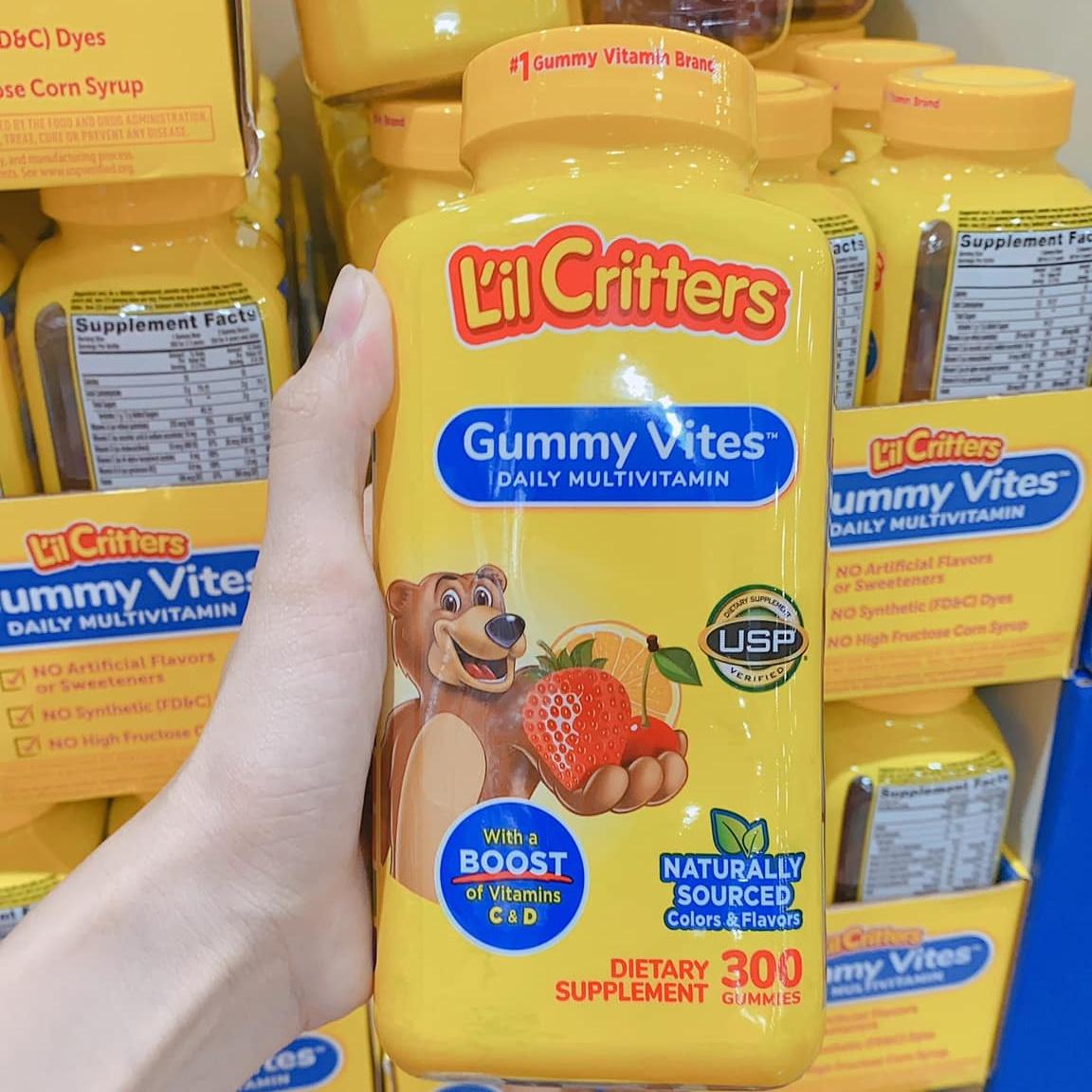Vitafusion L'il Critters Gummy Vites, 300 Gummy Bears