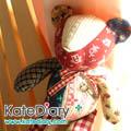 - ตุ๊กตาผ้า - ตุ๊กตาหมีน่ารักเย็บจากผ้าคุณมาซาโกะ