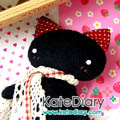 ตุ๊กตาผ้า - ตุ๊กตาแมวน้อย (NeKo Love) รับวาเลนไทน์
