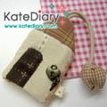 - Quilt - Key Cover บ้าน