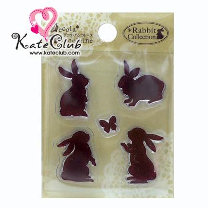 แผ่น Stamp ยาง Rabbit Collection No.31 (S)