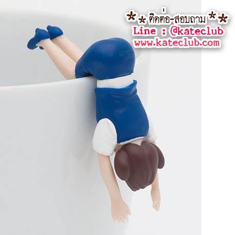 (พร้อมส่งเบอร์ 2) SALE - สาวน้อยเกาะแก้ว Cup no Fuchiko Series 3 - สีน้ำเงิน