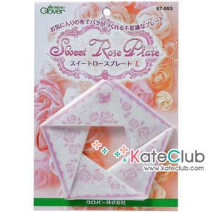 อุปกรณ์ทำ Sweet Rose Plate เบอร์ L ขนาด 6 cm