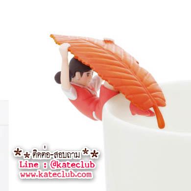 สาวน้อยเกาะแก้ว Cup no Fuchiko Series 6 - สีส้ม