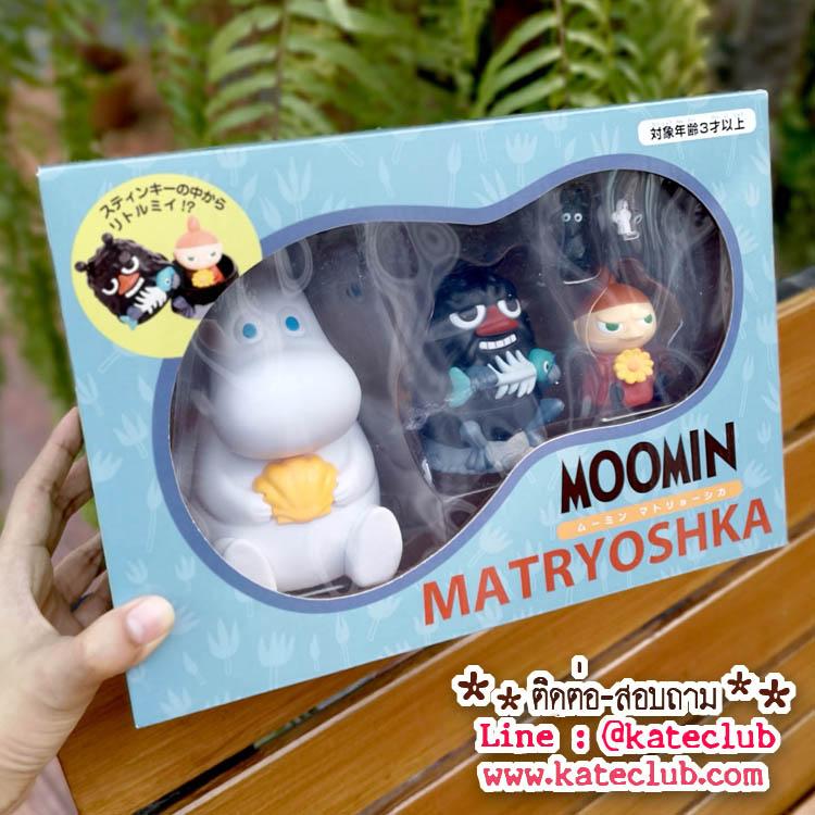 ตุ๊กตาแม่ลูกดก Matryoshka doll -Moomin Matryoshka