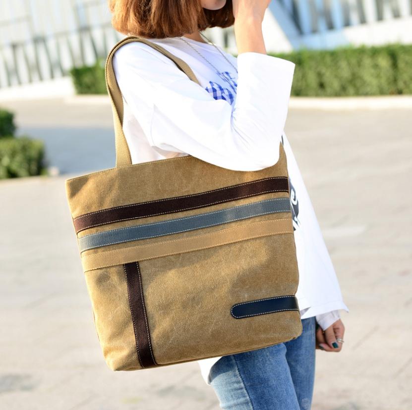 กระเป๋าสะพาย กระเป๋าถือผ้าแคนวาส ดีไซน์สวย