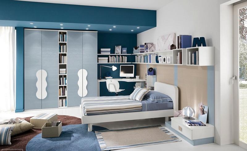 30 ไอเดียแต่งห้องนอนโทนสีฟ้า ให้เป็นสวรรค์แห่งการพักผ่อน