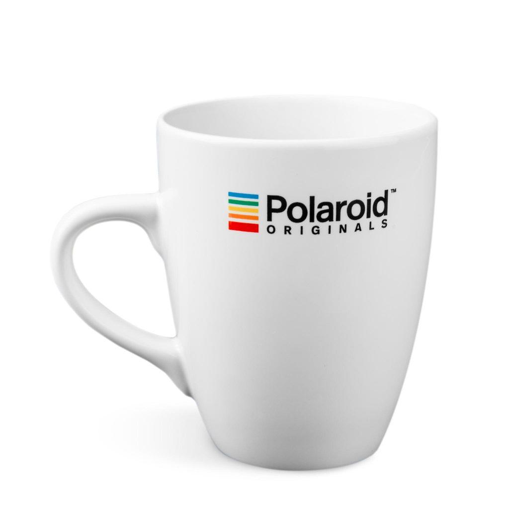 แก้วเซรามิกโพลารอยด์ ลายโพลารอยด์ (สีขาว)