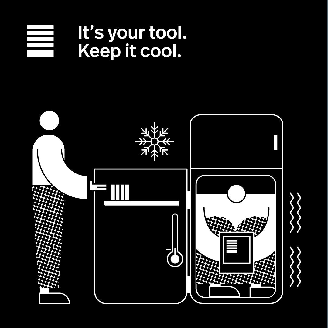 Keep it cool.