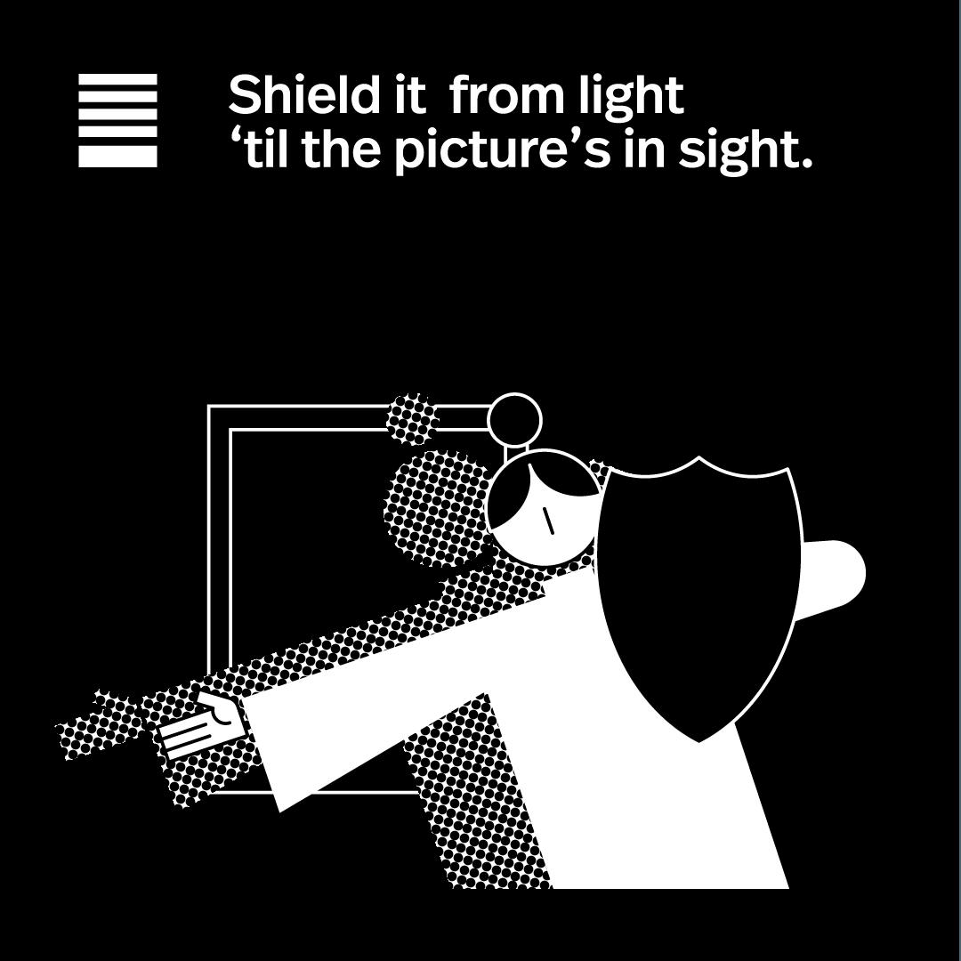 Shield it from light.