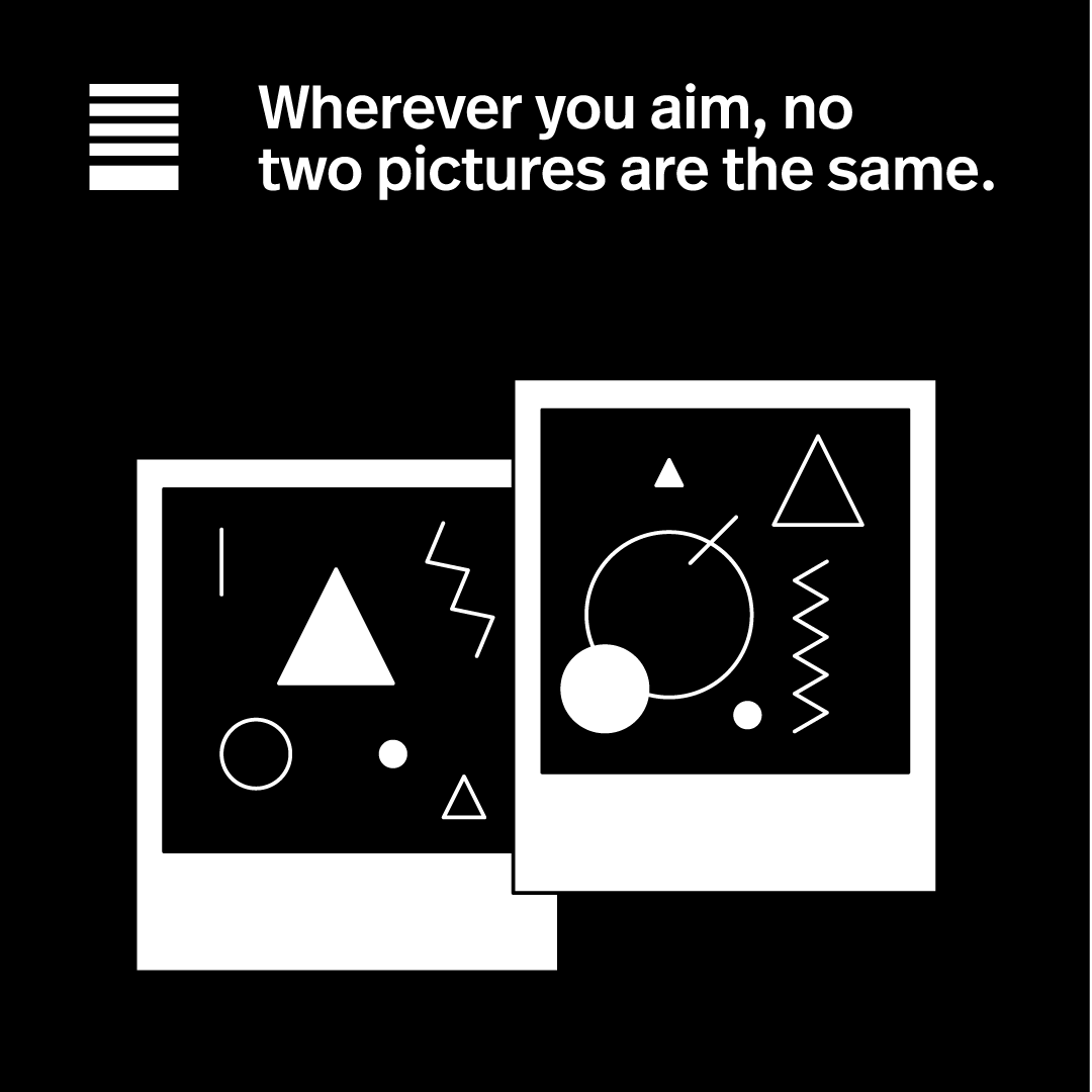 No two pictures are the same.