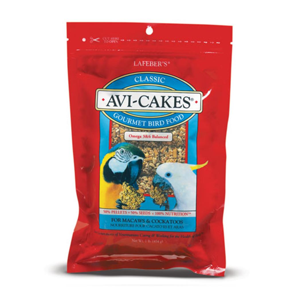 Classic Avi-Cakes for Macaw & Cockatoo