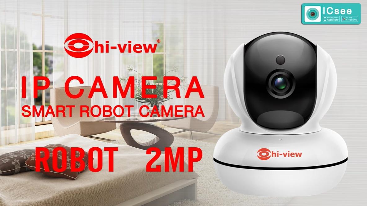 ตอน กล้องวงจรปิดโรบอร์ท IP Camera Smart Robot รุ่น HP-ROBOT20