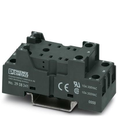 Base Socket, Rely Base, For 4 PDT