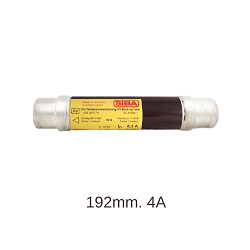 High Voltage Fuse  3/7.2kV, 192mm.,4A