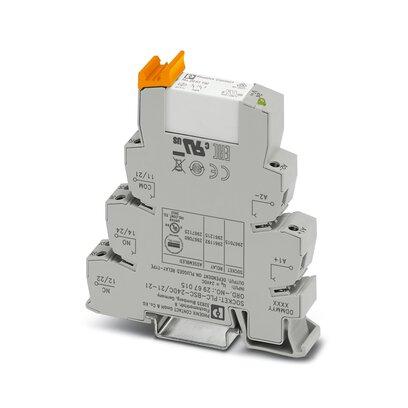 Relay module, PLC-RSC, 2PDT, 24VDC, 2x6A