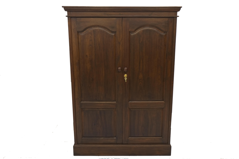ตู้เสื้อผ้าบานเปิดไม้สัก WD014
