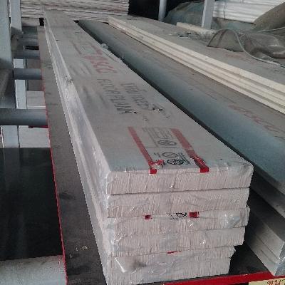 ไม้พื้น เซฟเวอร์ 15x300x2.5cm.(6นิ้ว) สีซีเมนต์ SCG